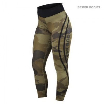 Better Bodies Camo High Tights
