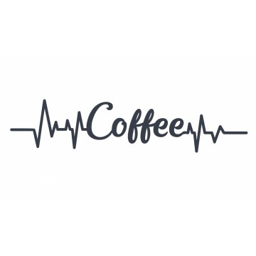 Coffee Heartbeat -tarra