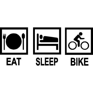 Eat Sleep Bike-tarra