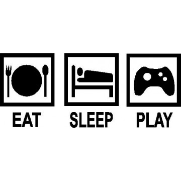 Eat Sleep Play -tarra