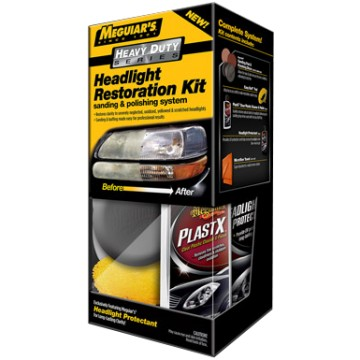 Meguairs Heavy Duty Headlight Restoration Kit