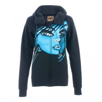 Iron Fist Private Eye Button Neck Hoody