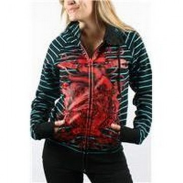 Iron Fist Set Your Sails Button Neck Hoody