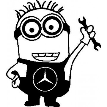 Mercedes Benz Minion