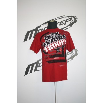 Metal Mulisha Mighty Tee Punainen
