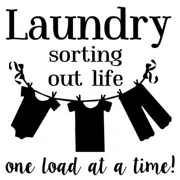 Laundry Sorting Out Life-tarra
