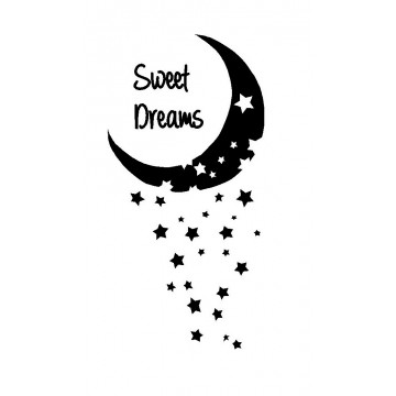 Sweet Dreams Moon and Stars-tarra