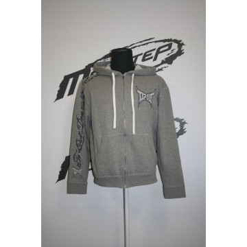Tapout Fierce Ziphood Harmaa