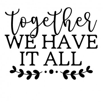 Together We Have It All-tarra