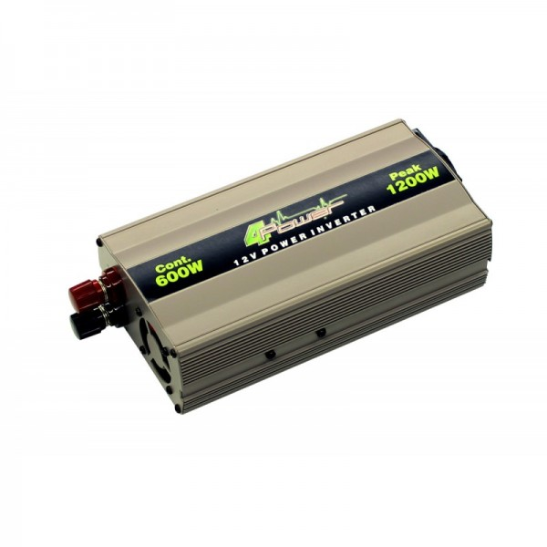 4POWER Invertteri 600Wrms/1200Wmax