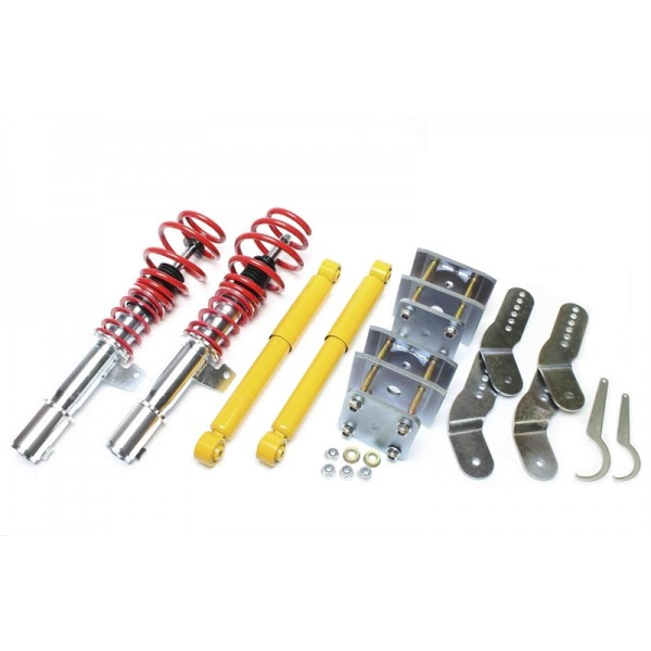 TA Technix coilover kit VW Caddy 3
