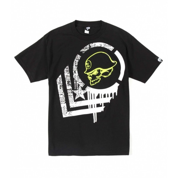 Metal Mulisha Bisect Tee Musta