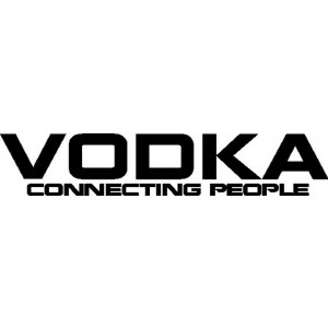 Vodka Connecting People -tarra